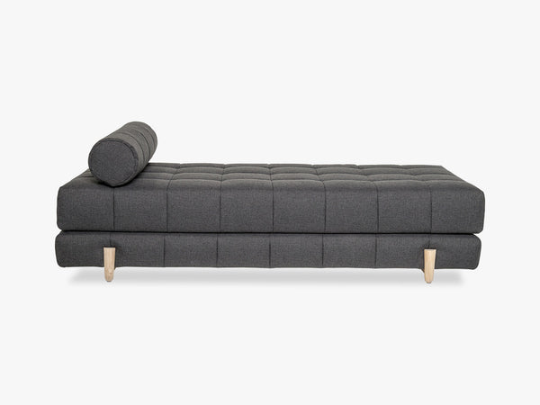 Bulky Daybed, Dark Grey w/White Oiled Oak fra Bloomingville