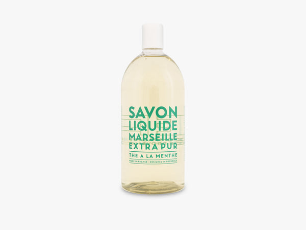 EP Liquid Soap Refill 1000ml, Mint Tea fra Savon De Marseille