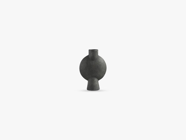 Sphere Vase Bubl, Mini, Dark Grey fra 101 Copenhagen