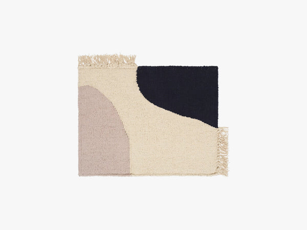 Earth Place Mat, Dark Blue fra Ferm Living