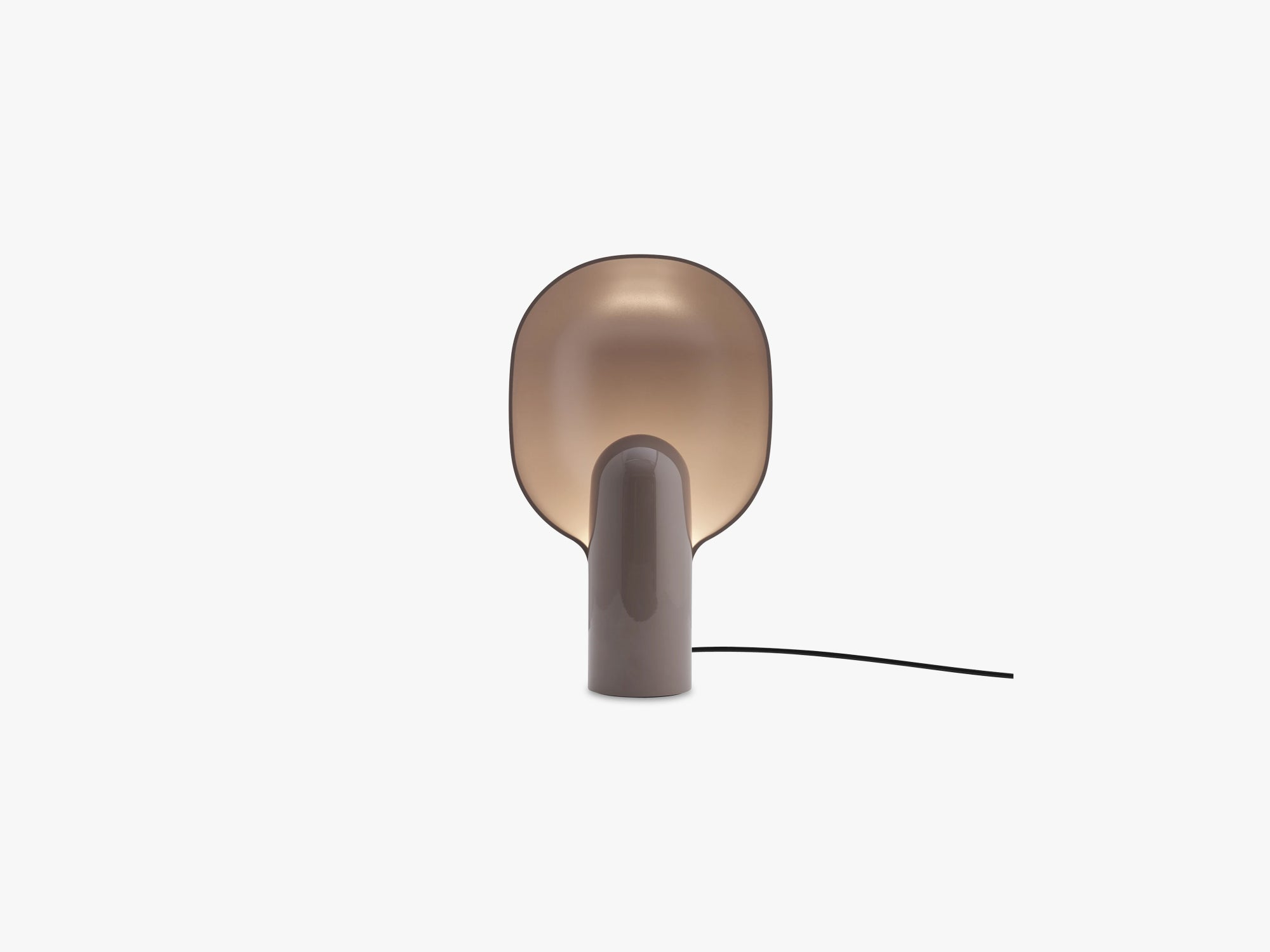 Ware Table Lamp, Mole Grey fra New Works