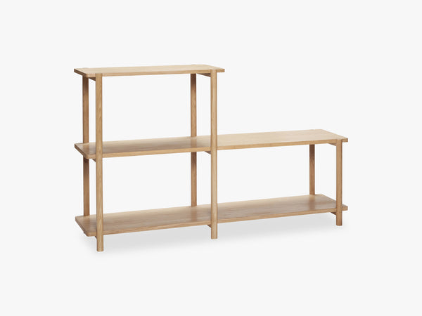 Shelving Unit 3, Oak fra Hübsch