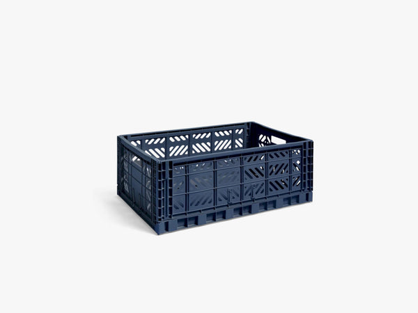 Colour Crate Large, Navy fra HAY
