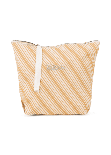 Pouch Dobby Striped, Mix Amber fra Aiayu