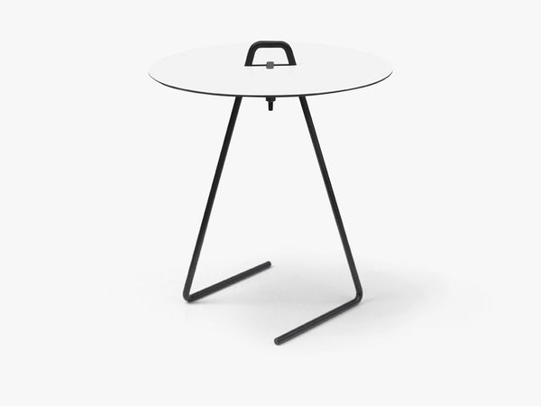 Side Table - White Top fra Moebe