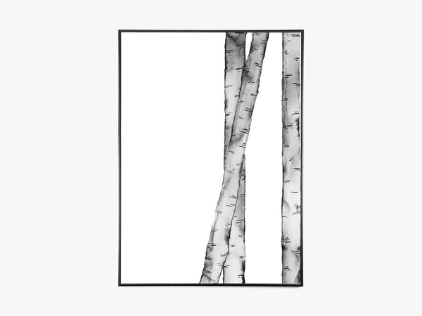 Birch Black fra Trine Holbaek Designs