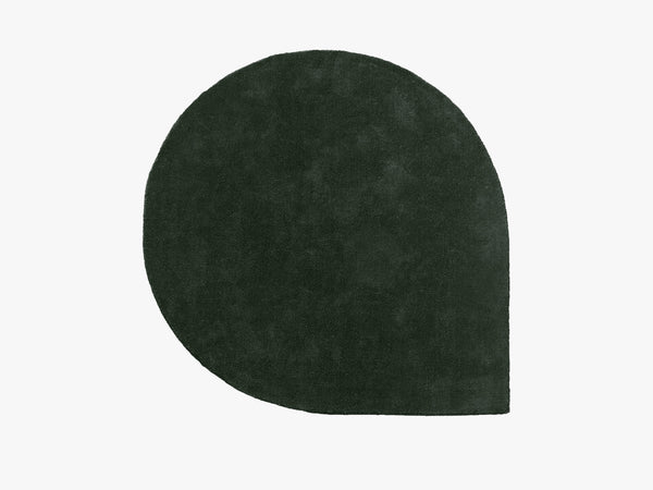 Stilla - Handtufted wool rug 220cm, forest green fra AYTM