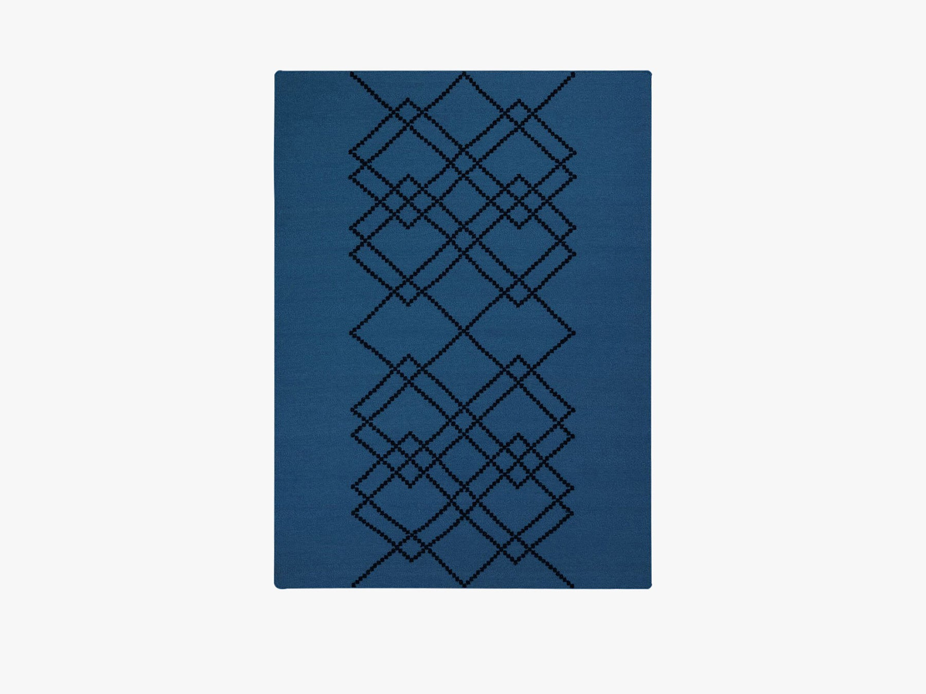 Rug Borg - 200x300 - Royal Blue fra Louise Roe