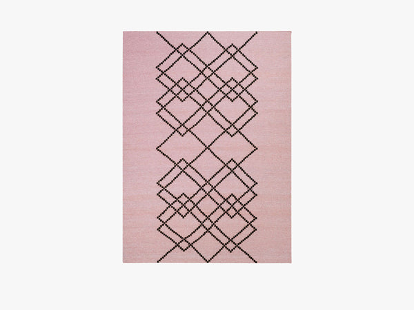 Rug Borg - 200x300 - Light Rose fra Louise Roe