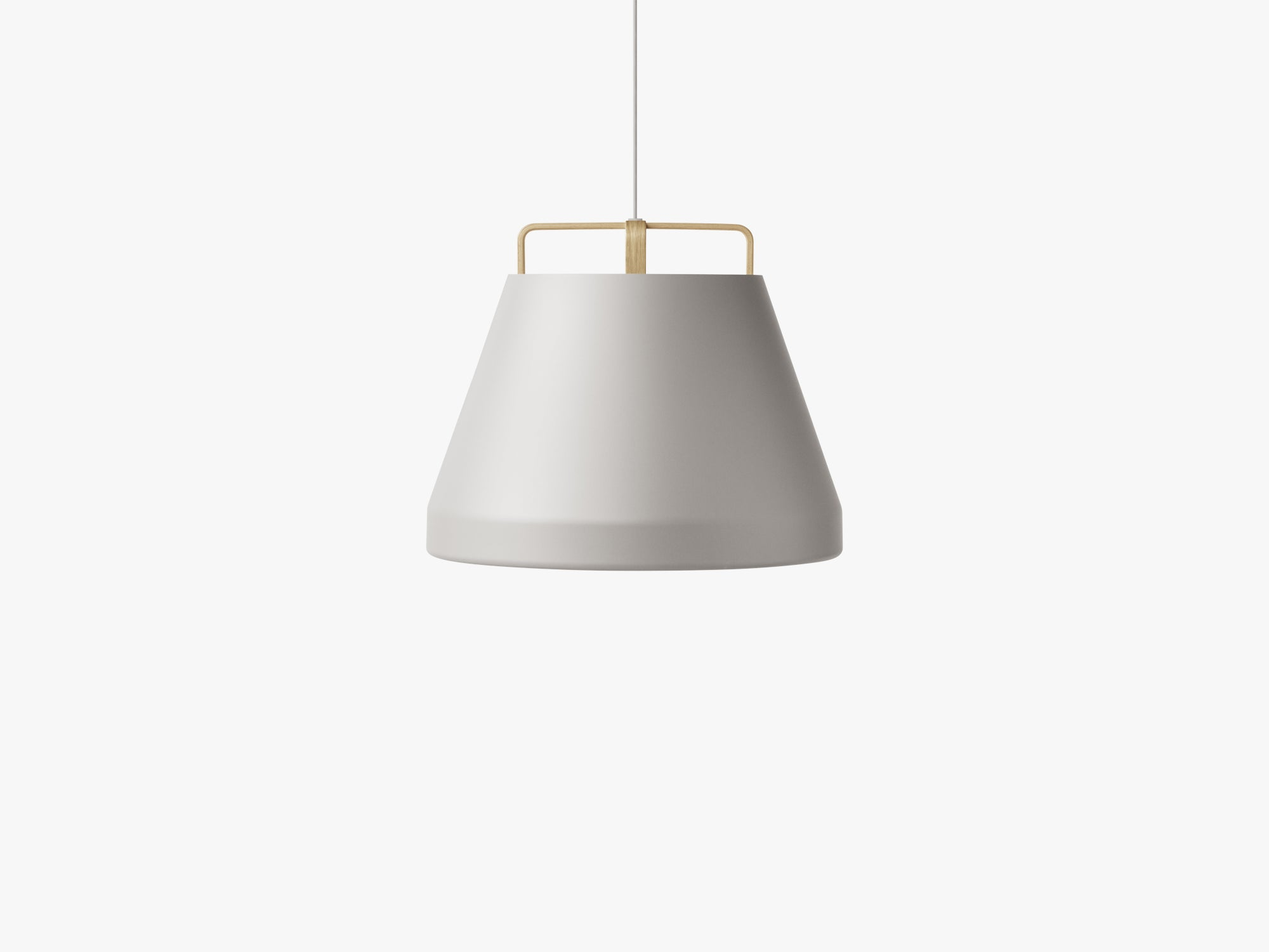 Voyage Pendant M1, Ø58 Light Grey/Oak fra MILLION