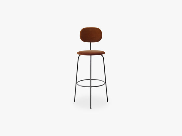 Afteroom Bar Chair Plus, Black/City V062 fra Menu