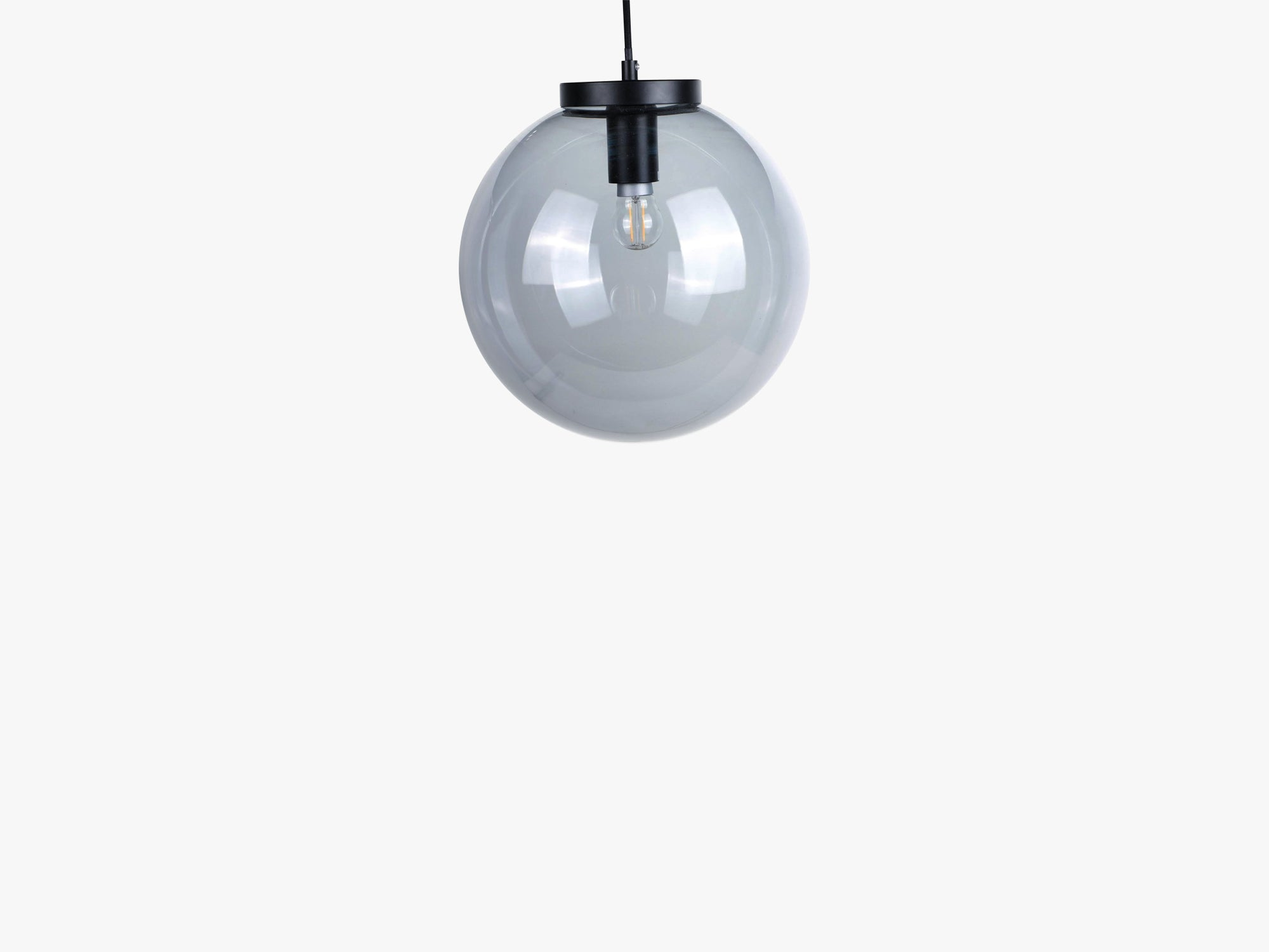 Ball Pendant Lamp, Grey Blue fra Specktrum