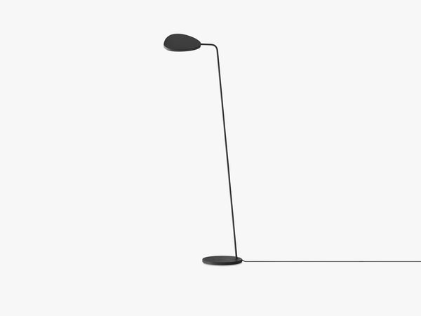Leaf Floor Lamp, Black fra Muuto