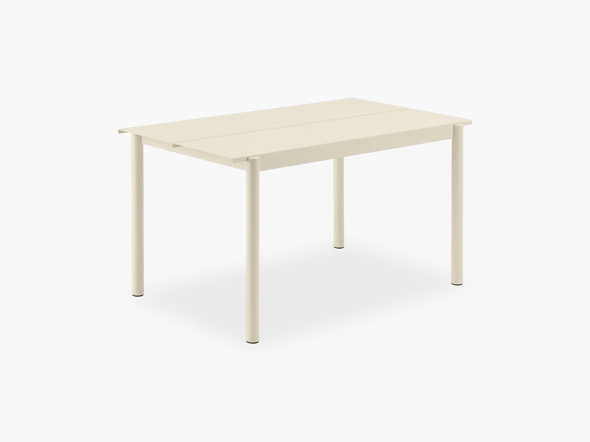 Linear Steel Table - 140, White fra Muuto