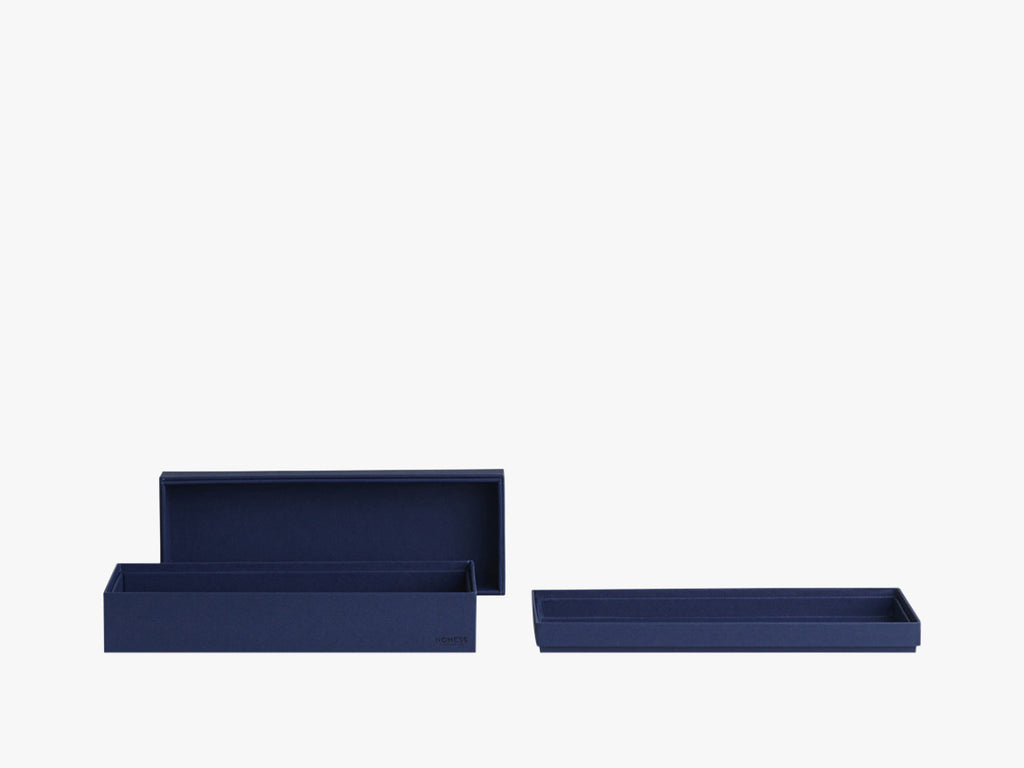 Tray Box - Dark Blue - Rectangular - S fra Nomess Copenhagen