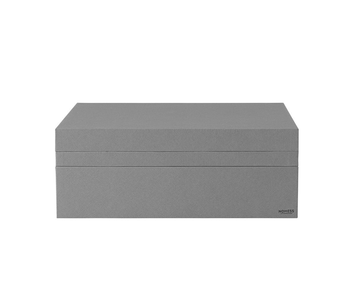 Tray Box - Dark Grey - Rectangular - A4 fra Nomess Copenhagen