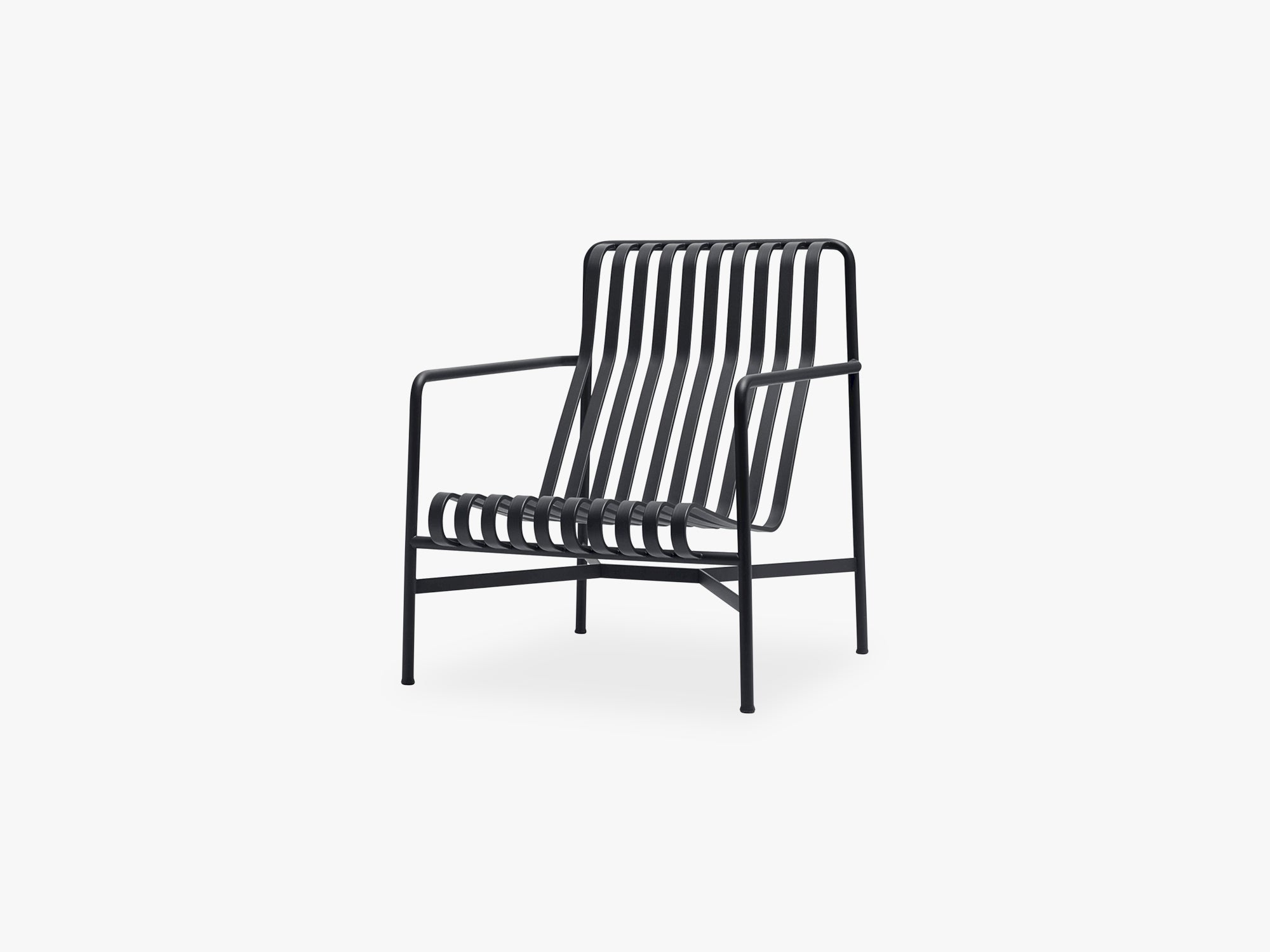 Palissade Lounge Chair - High, Anthracite fra HAY