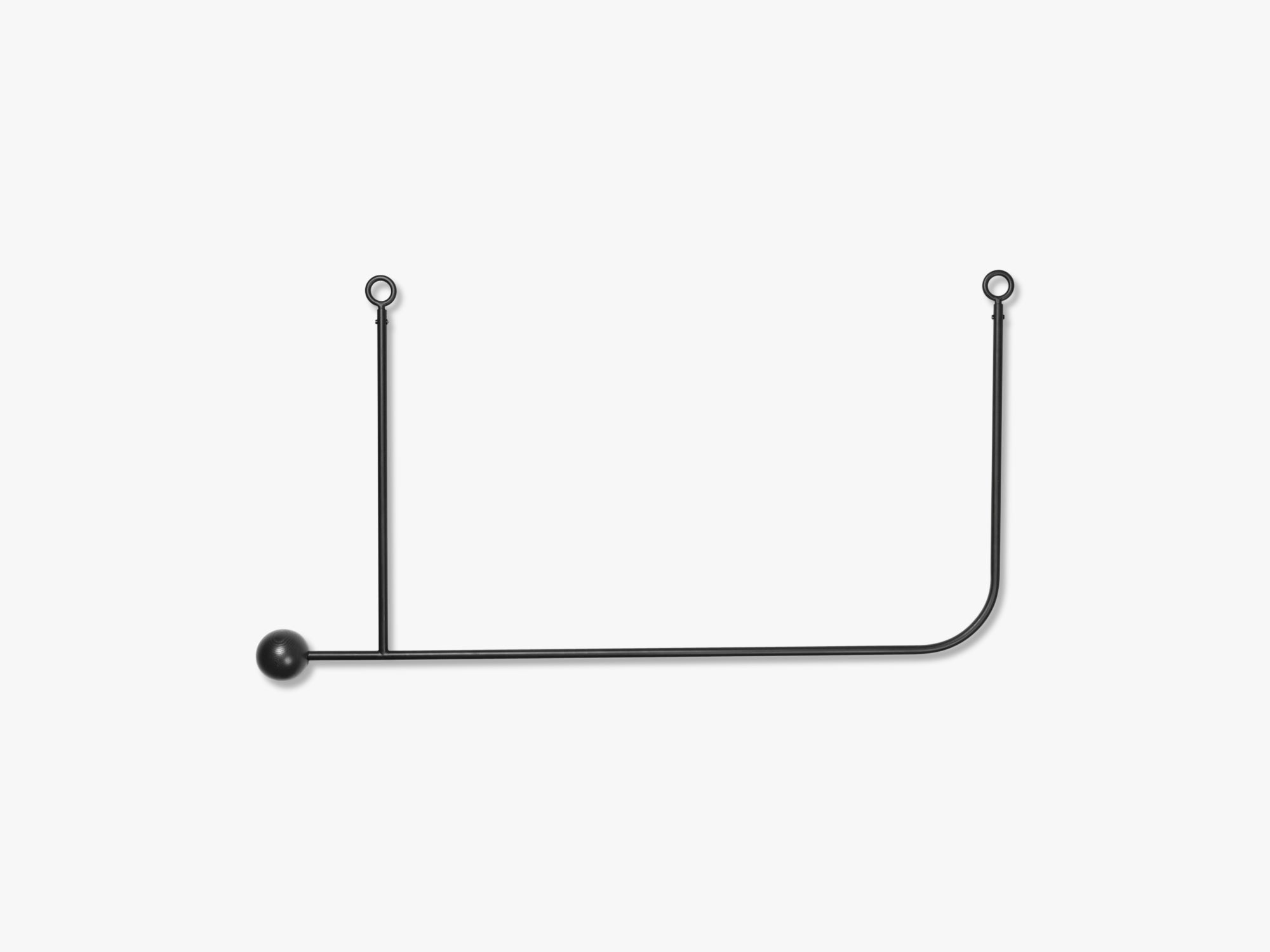 Pujo Hanging Coat Rack fra Ferm Living