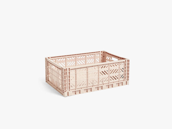 Colour Crate Large, Soft Pink fra HAY