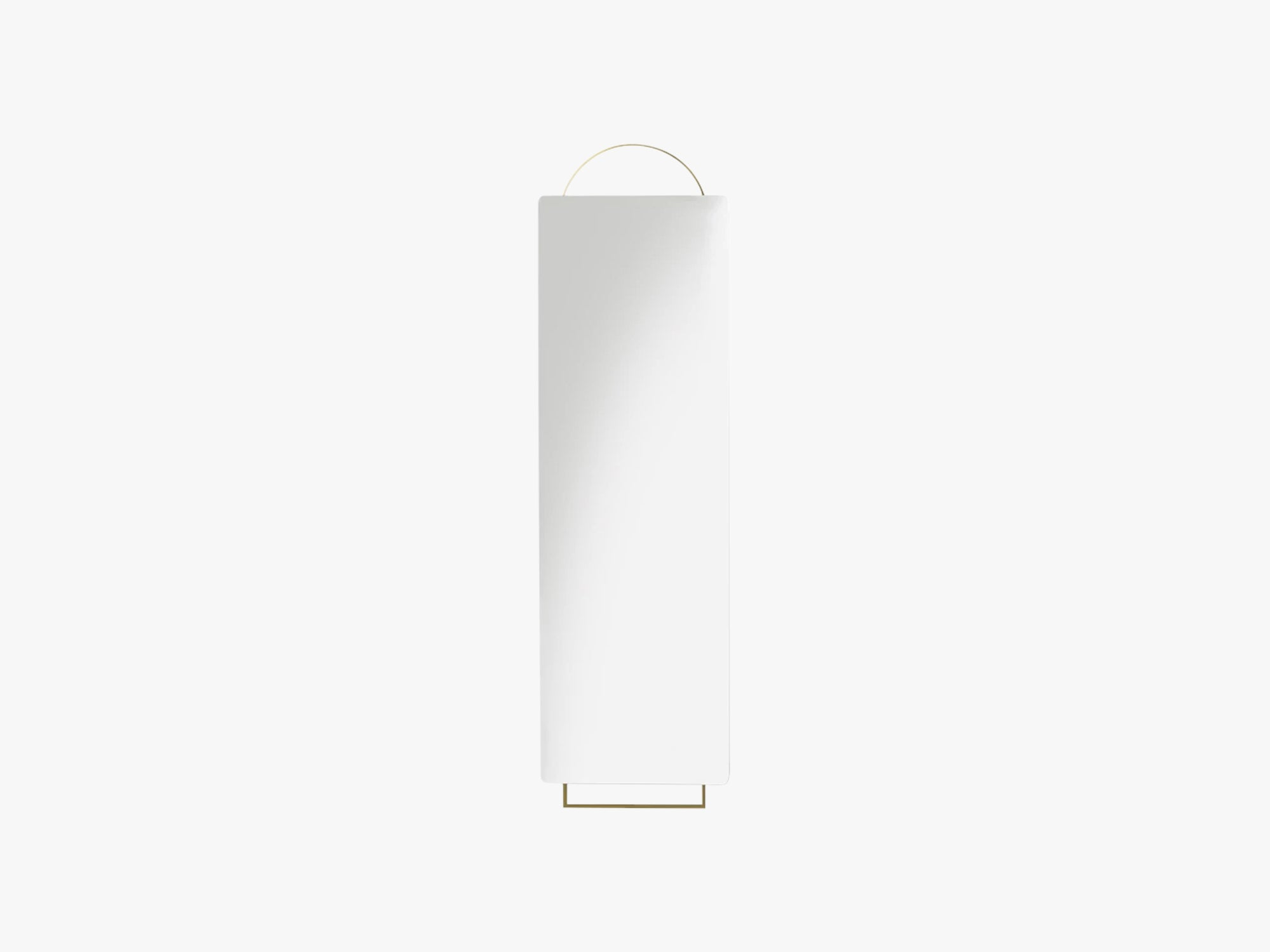 Adorn Mirror - Full size, Brass fra Ferm Living