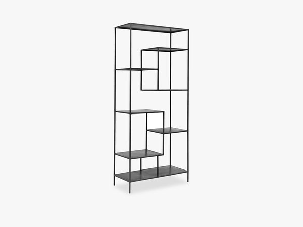 Iron display rack, black fra Nordal