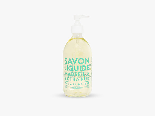 EP Liquid Soap 500ml, Mint Tea fra Savon De Marseille