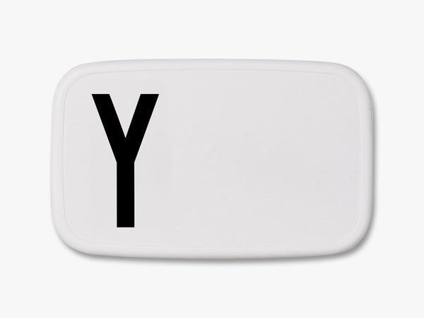 Y - Personal Lunch Box fra Design Letters