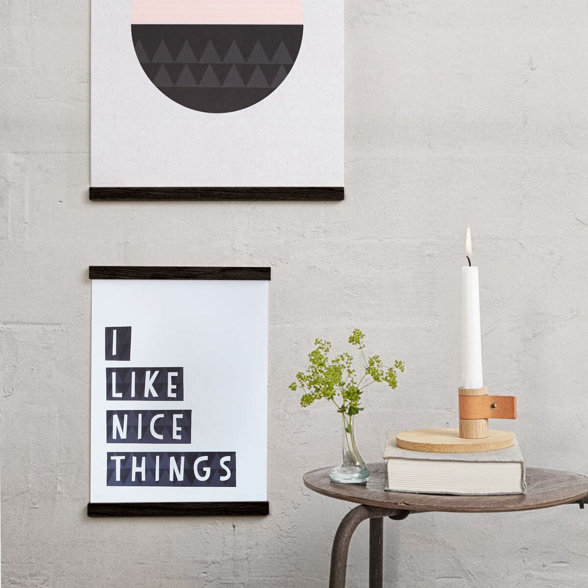 Wall Sticks Ramme Black fra By Wirth