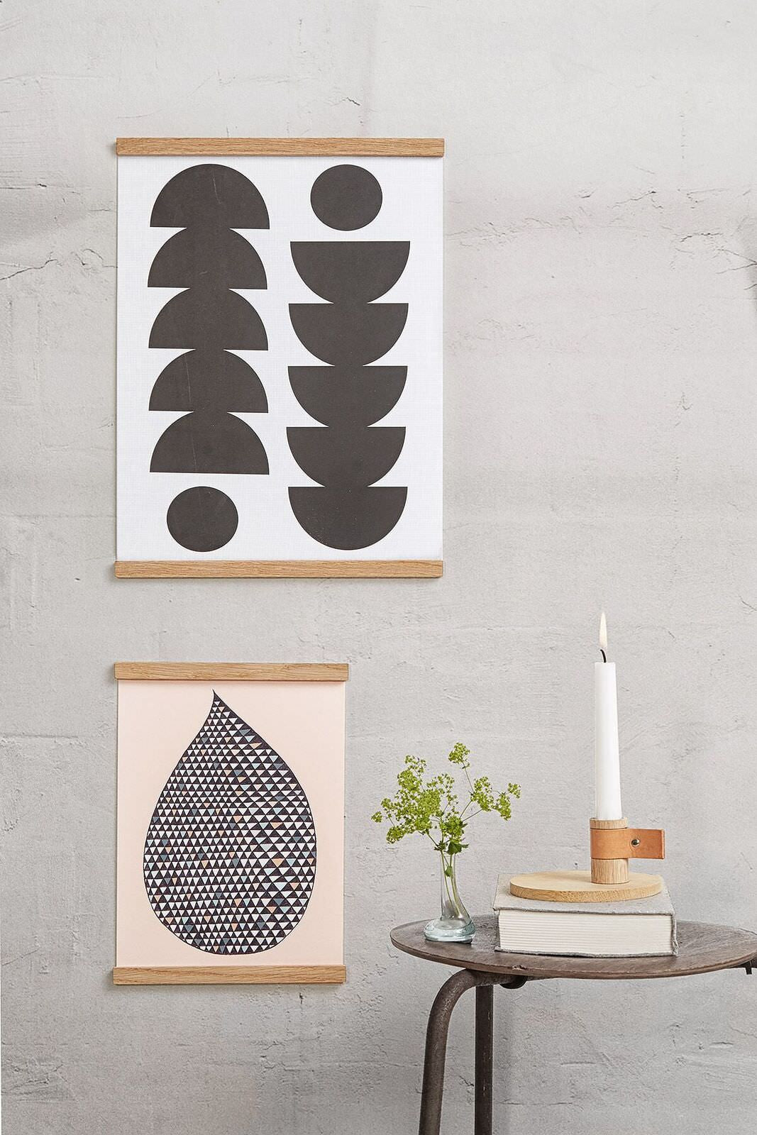 Wall Sticks Ramme Natur fra By Wirth