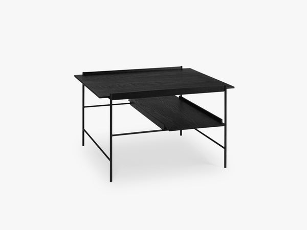 Kanso Coffee Table, Black Ash/Black fra Please Wait To Be Seated
