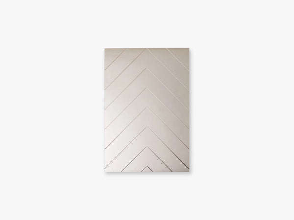 Herringbone Mirror - Small, Bronze fra Specktrum