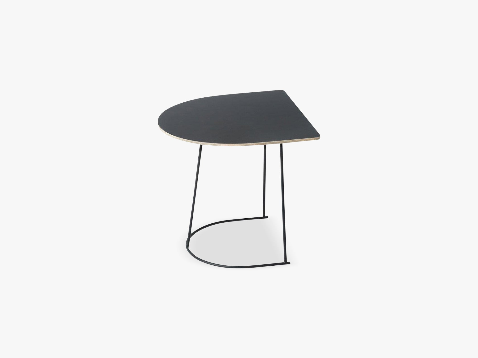 Airy Coffee Table - Half Size, Black - Nanolaminate fra Muuto