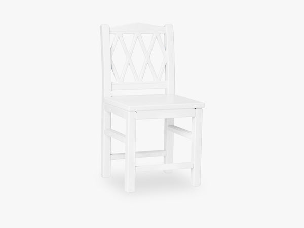 Harlequin Kids Chair, White fra Cam Cam Copenhagen