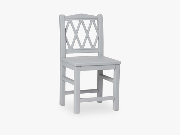 Harlequin Kids Chair, Grey fra Cam Cam Copenhagen