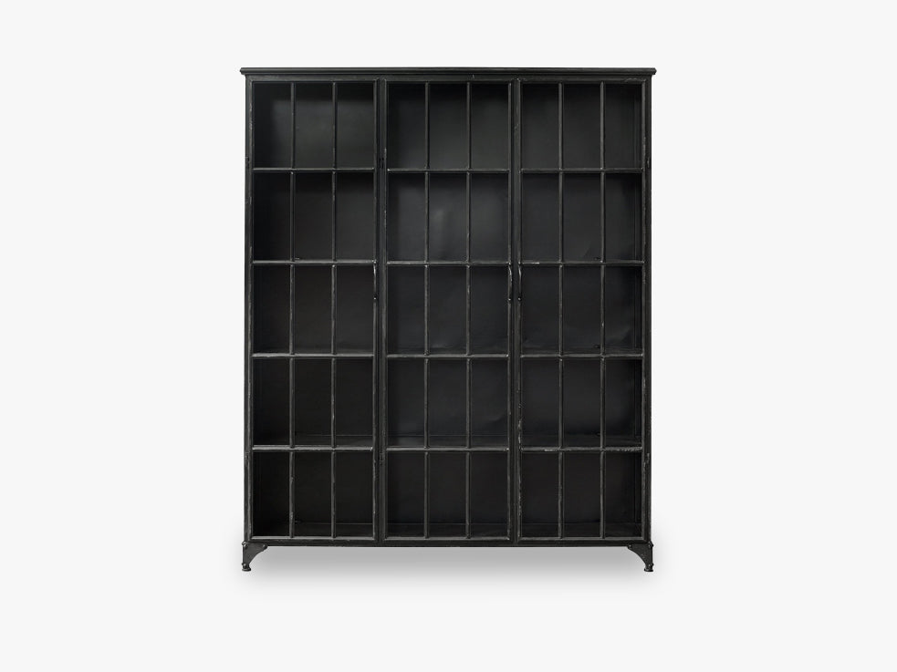 DOWNTOWN iron cabinet, black fra Nordal