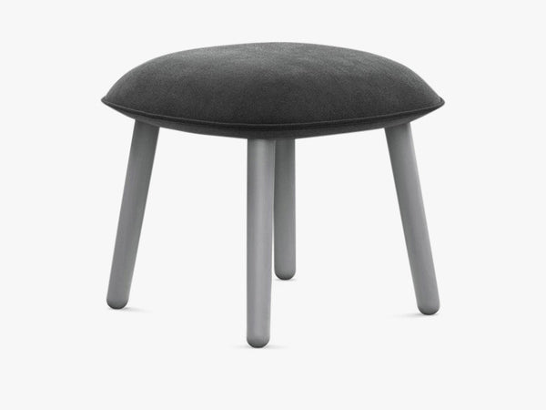 Ace Footstool Velour - Grey fra Normann Copenhagen