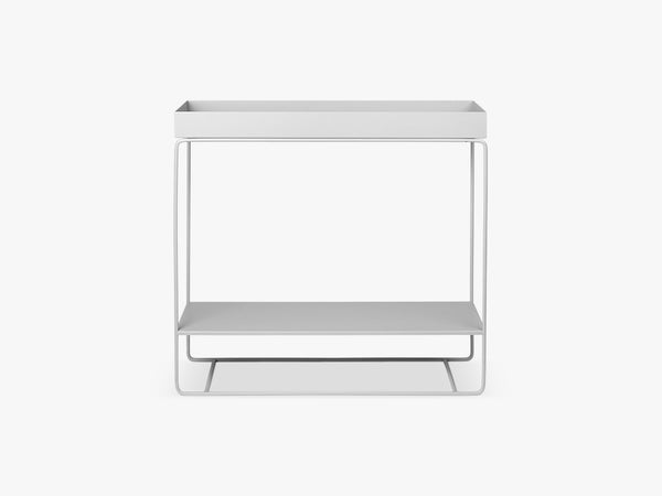 Plant box Two-Tier - Light Grey fra Ferm Living