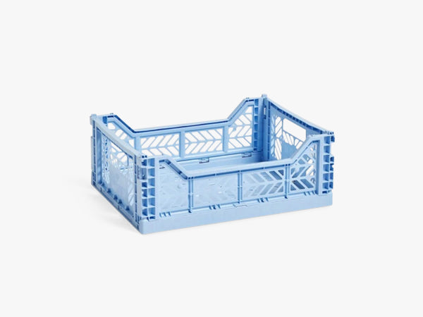 Colour Crate Medium, Light Blue fra HAY