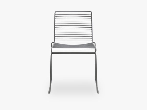 HEE Dining Chair, Asphalt Grey fra HAY