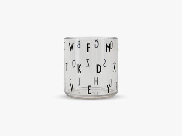 Kids personal drinking glass, Abc fra Design Letters