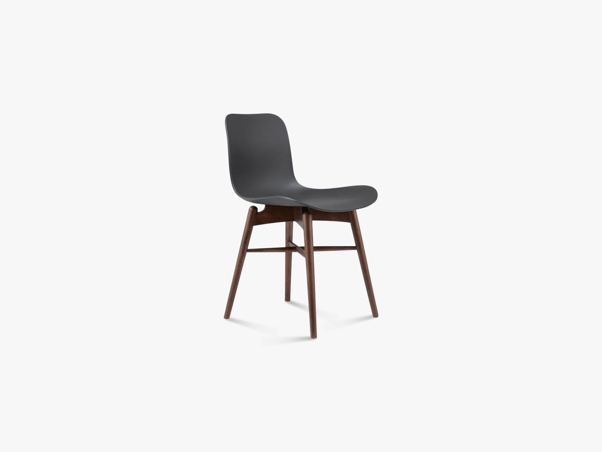 Langue Chair Wood, Brass/Anthracite Black fra NORR11