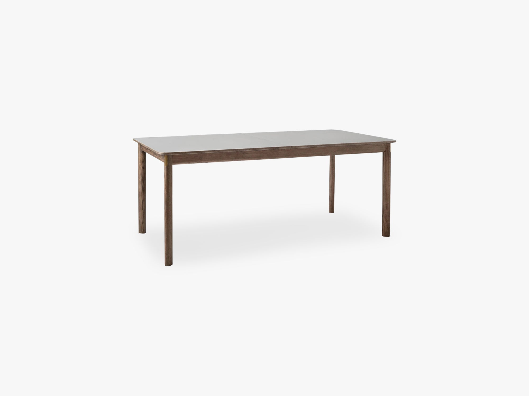 Patch Table HW1, Nano laminate Fenix Giogio Londra 0718/ Smoked Oak/ Brass fittings fra &tradition