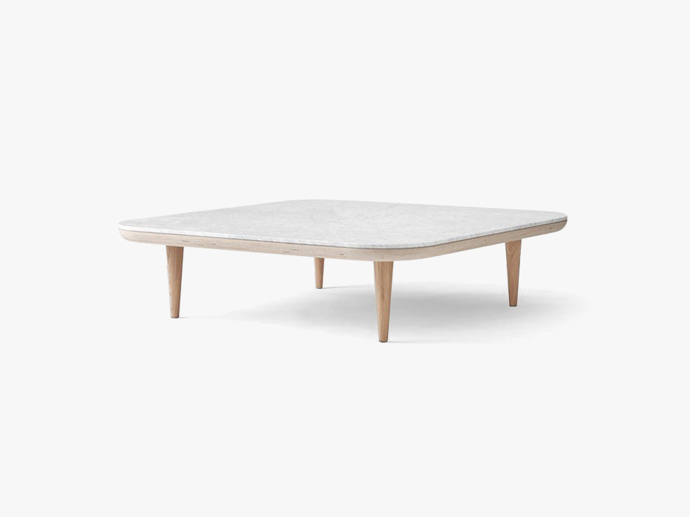 Fly Table - SC11 - Honed Bianco Carrara fra &tradition