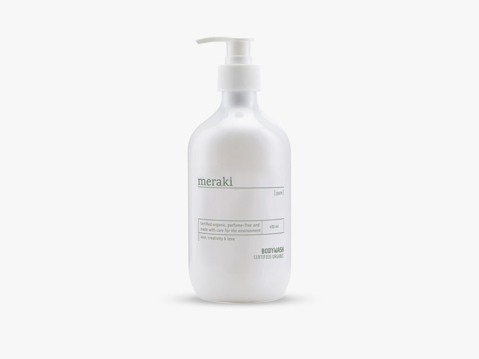 Bodywash, Pure, 500 ml fra Meraki