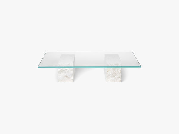 Mineral Coffee Table - Bianco Curia fra Ferm Living