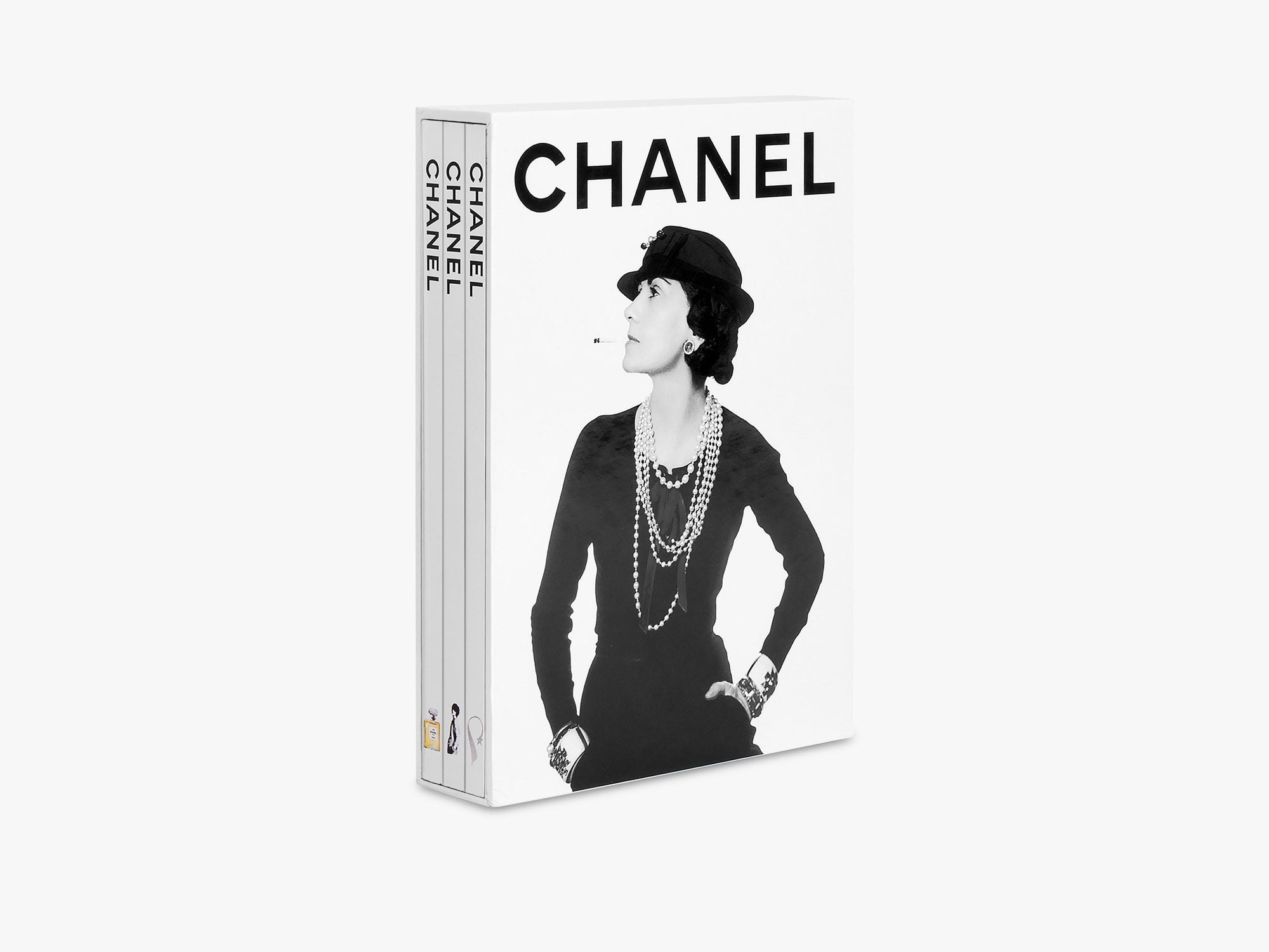 Chanel 3-Book Slipcase fra Assouline