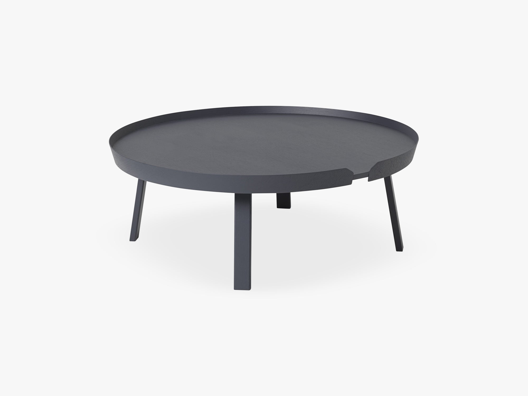 Around Coffee Table - Xl - Extra Large, Anthracite fra Muuto