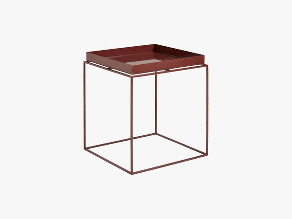 Tray Table - Medium, Chocolate - High gloss fra HAY