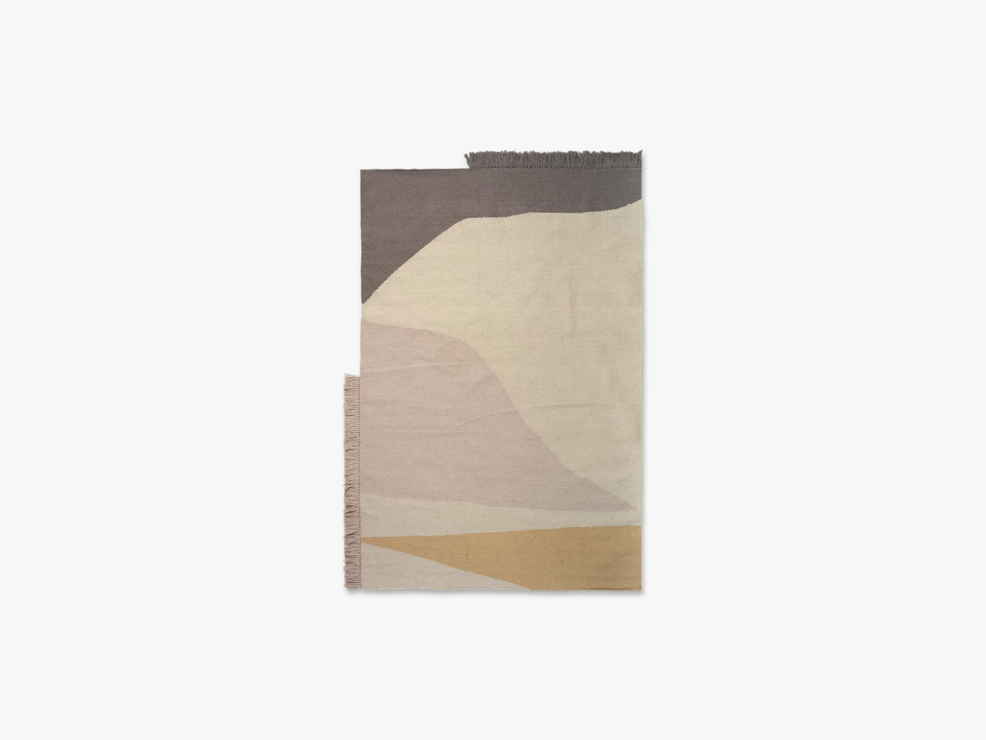 Kelim Rug, Earth, 140x200, Multi fra Ferm Living