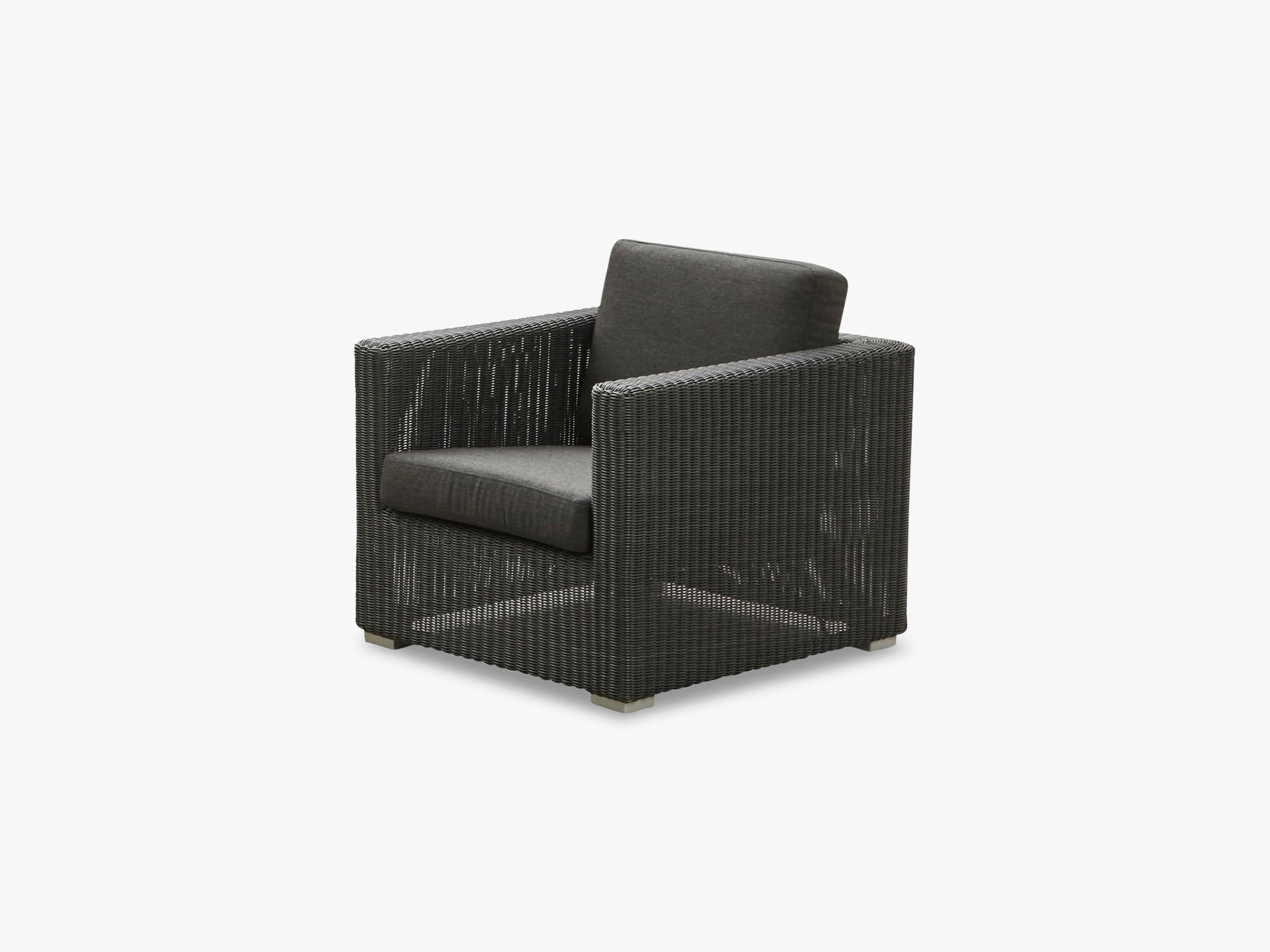 Chester Lounge Chair Kissen Set, schwarz fra Cane-Line
